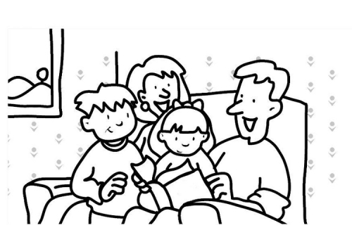 preschool family coloring pages - photo#22