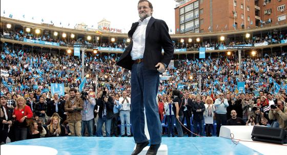 Rajoy en Valencia. Foto: EFE