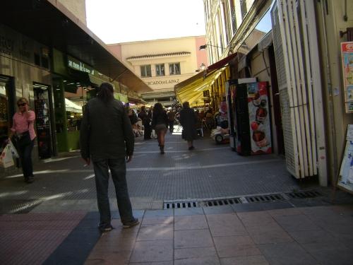 Mercado calle de Ayala. Madrid