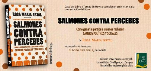 Invitación Salmones contra percebes - CDL Zaragoza (29 may)