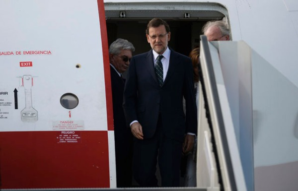Spain's Prime Minister Mariano Rajoy arrives to take part in the G20 Summit in St. Petersburg