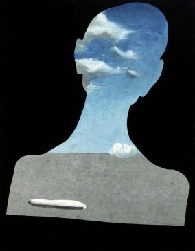 dalí. Hombre con la cabeza llena de nubes, c.1936