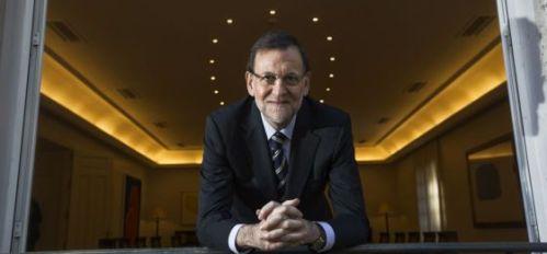 Rajoy habla para El País y cinco diarios internacionales. Foto: Ricardo Gutiérrez