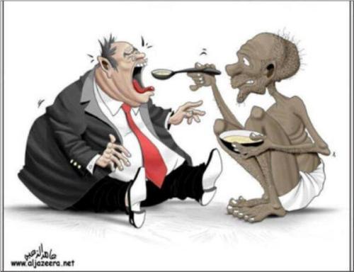 pobre alimenta rico