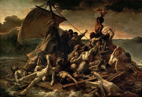 La balsa de la Medusa, Théodore Géricault (1818 y 1819)