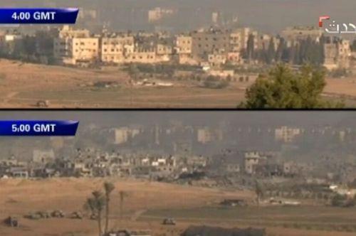 israle.gaza.demolición