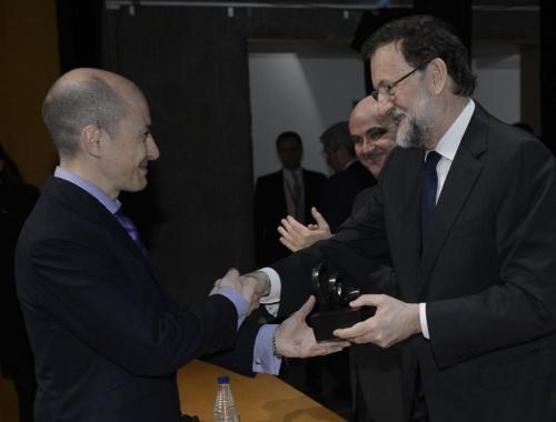 Rajoy con Jenaro García