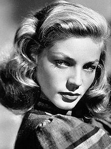 Lauren Bacall, foto promocional 1940