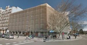 El edificio Atocha/Retiro antes de ser demolido