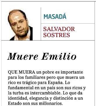 Columna publicada en El Mundo