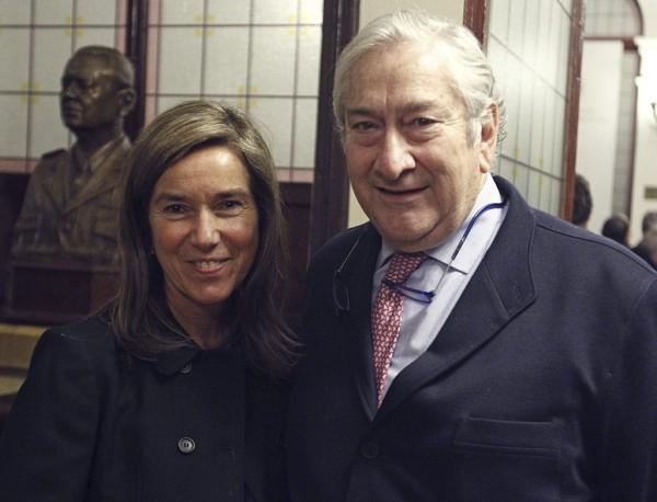 Ana Mato y Javier Rodríguez, responsables de la sanidad en España y en Madrid, respectivamente