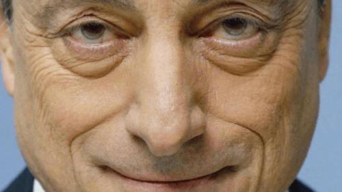 Mario Draghi, actual presidente del BCE, foto encontrada por @guerraeterna
