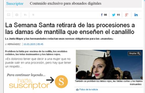Diario Información. Alicante.
