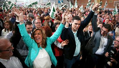 Campaña electoral para las elecciones andaluzas