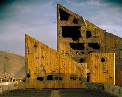 Simon Norfolk. Palacio de cultura. Kabul.