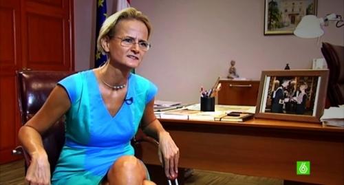 La embajadora húngara en España entrevistada para La Sexta Columna