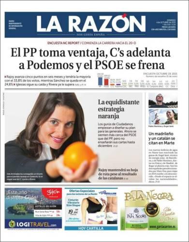 Partida doble: las encuestas de apoyo de Marhuenda y la manzana naranja.