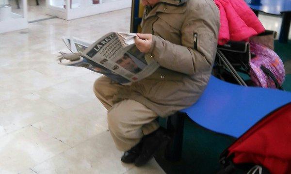 larazon.señorico.leyendo