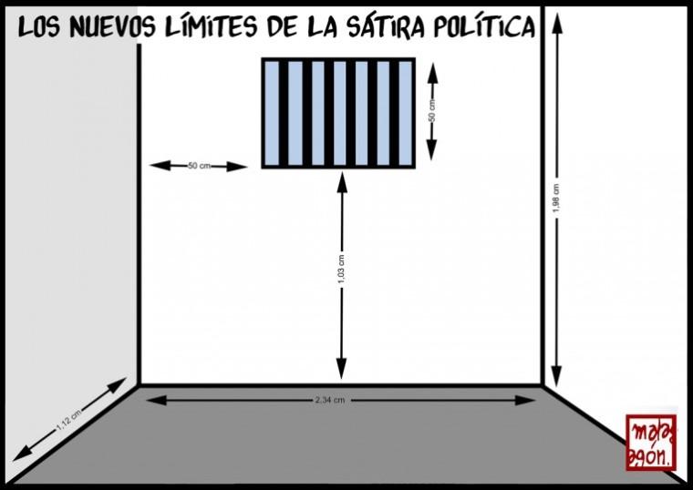 malagón.sátira.política