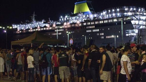 refugiados.grecia.barco